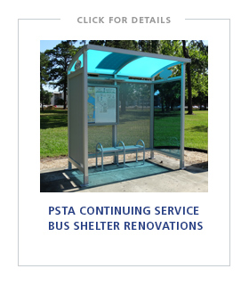 PSTA Continuing Service – Bus Shelter Renovations