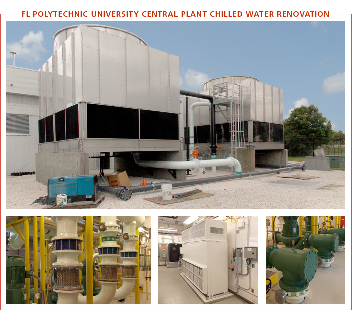 Florida Polytechnic University Central Plant Chilled Water Renovation