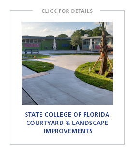 State College of Florida Courtyard & Landscape Improvements